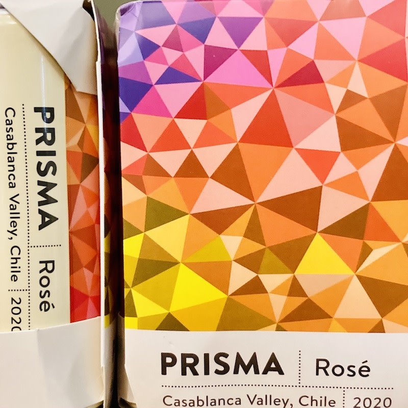 Chile 2020 Prisma Pinot Noir Rose cans