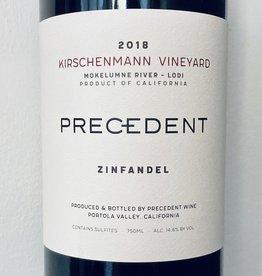2018 Precedent Zinfandel Kirschenmann Vineyard