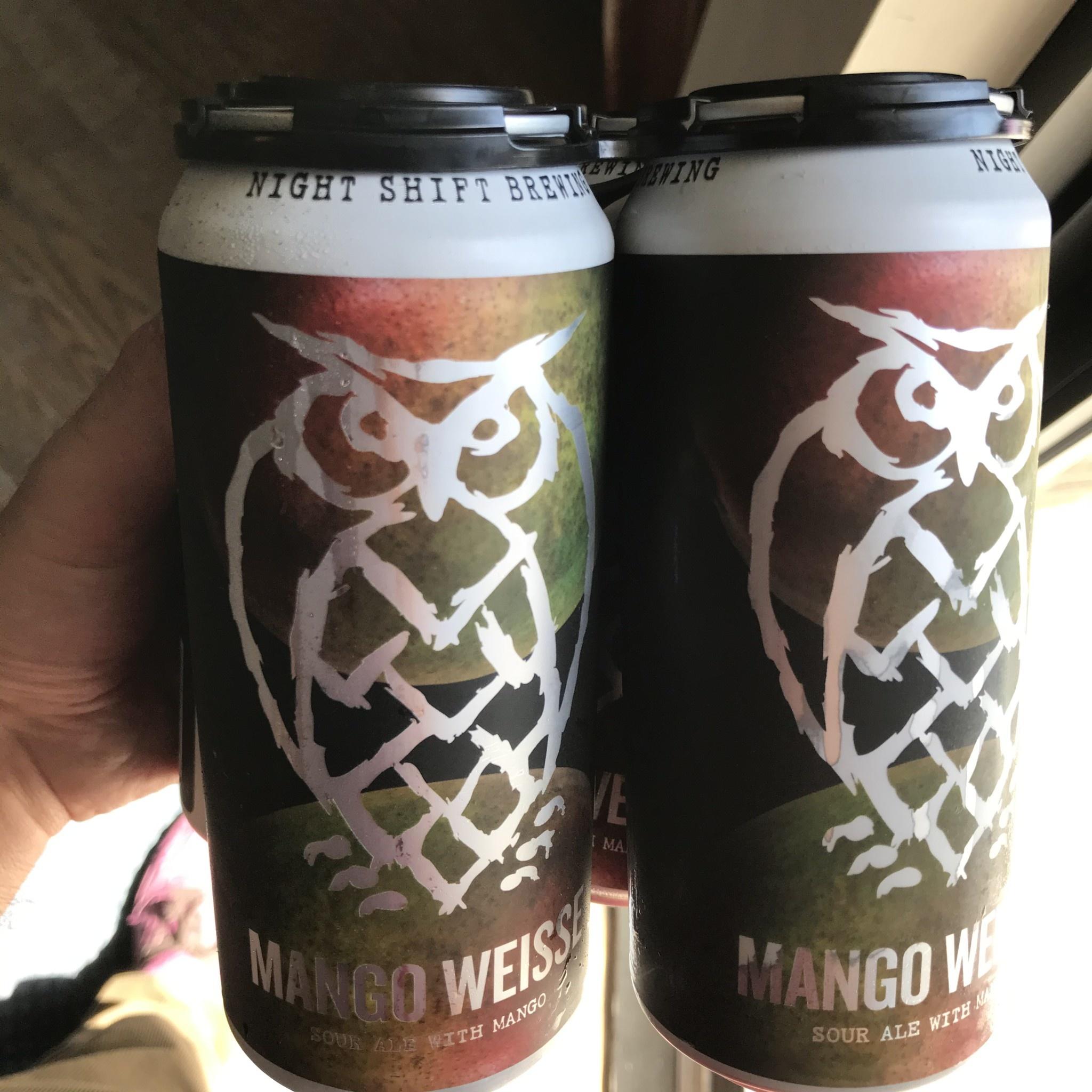 USA Night Shift Mango Weisse 4pk