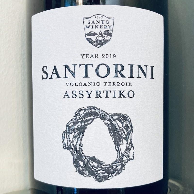 Greece 2019 Santo Winery Santorini Assyrtiko