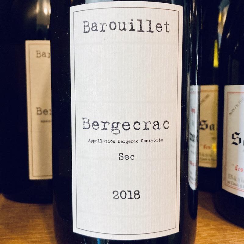 France 2019 Chateau Barouillet Bergecrac Bergerac Blanc Sec