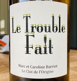 """USA 2019 Le Clot de l'Origine """"Le Trouble Fait"""" VdF muscat/sauvignon"""