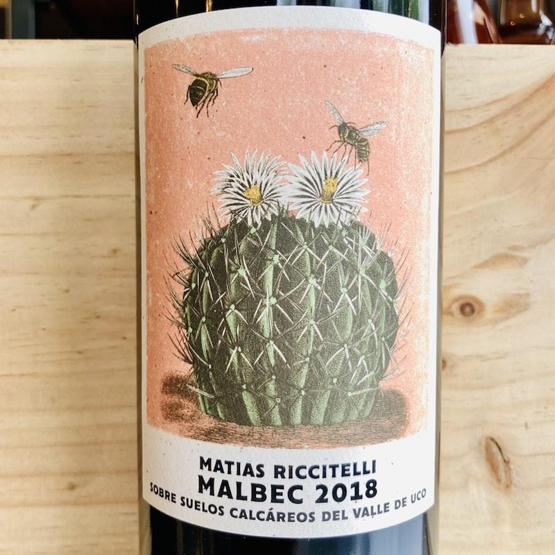 Argentina 2018 Matias Riccitelli Mendoza Malbec