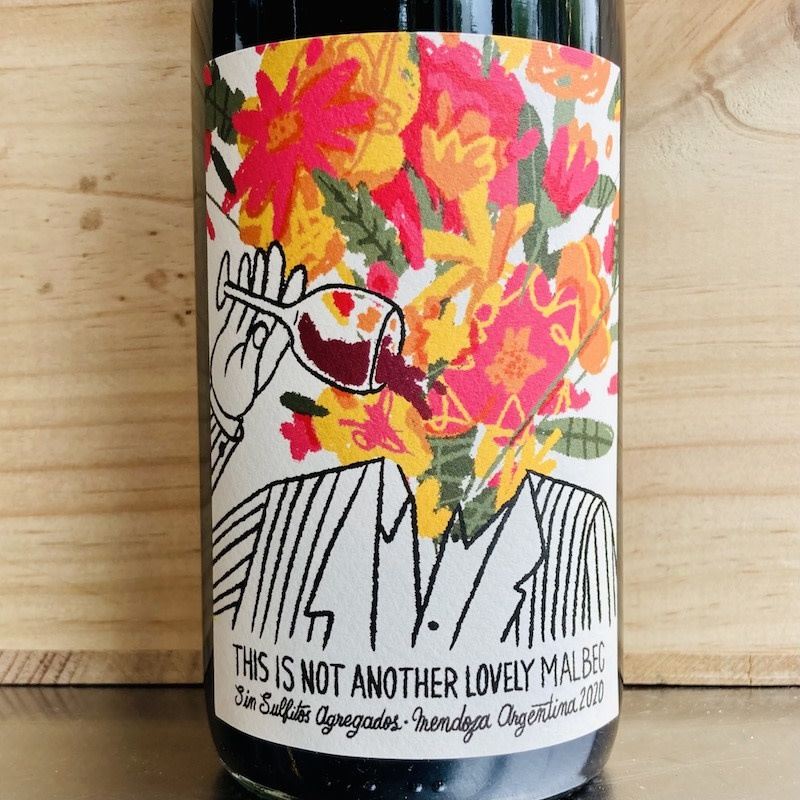 """Argentina 2020 Matias Riccitelli Mendoza Malbec """"THIS IS NOT ANOTHER LOVELY MALBEC"""""""
