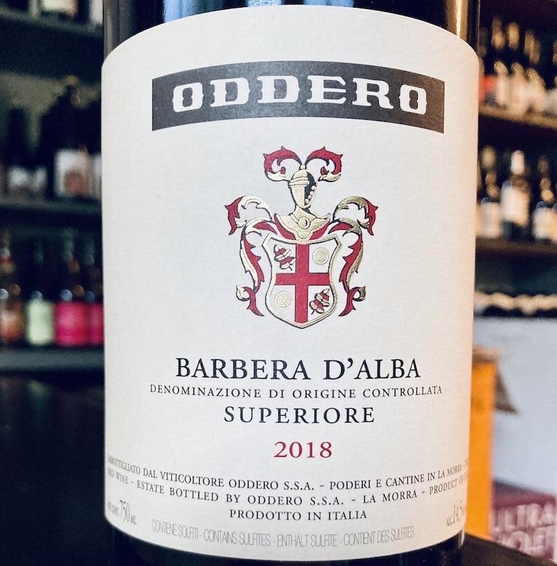 Italy 2019 Oddero Barbera d'Alba Superiore