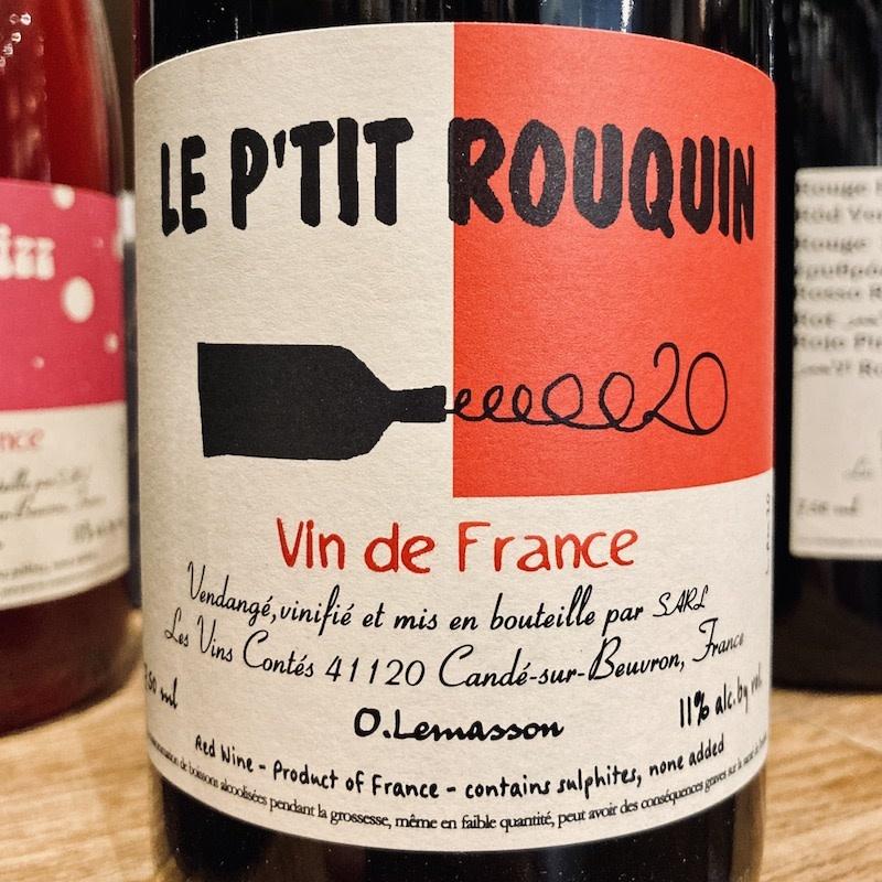 France 2020 Les Vins Contes Le P'tit Rouquin