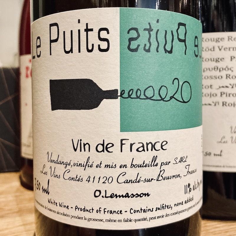"""France 2020 Les Vins Contes """"Le Puits"""""""
