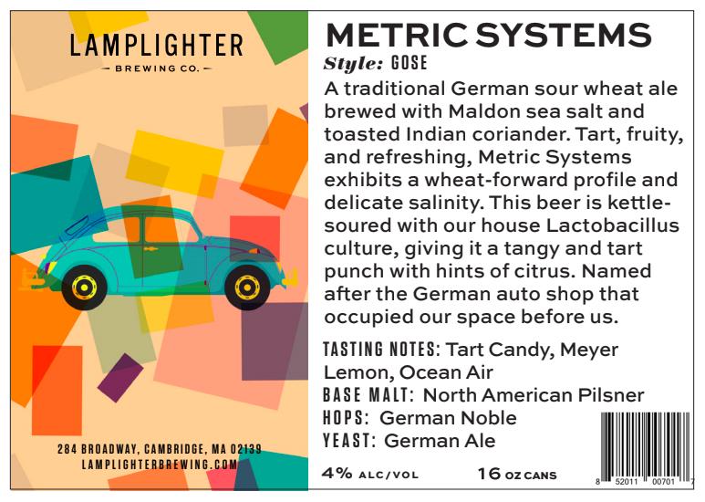 USA Lamplighter Metric Systems 4pk
