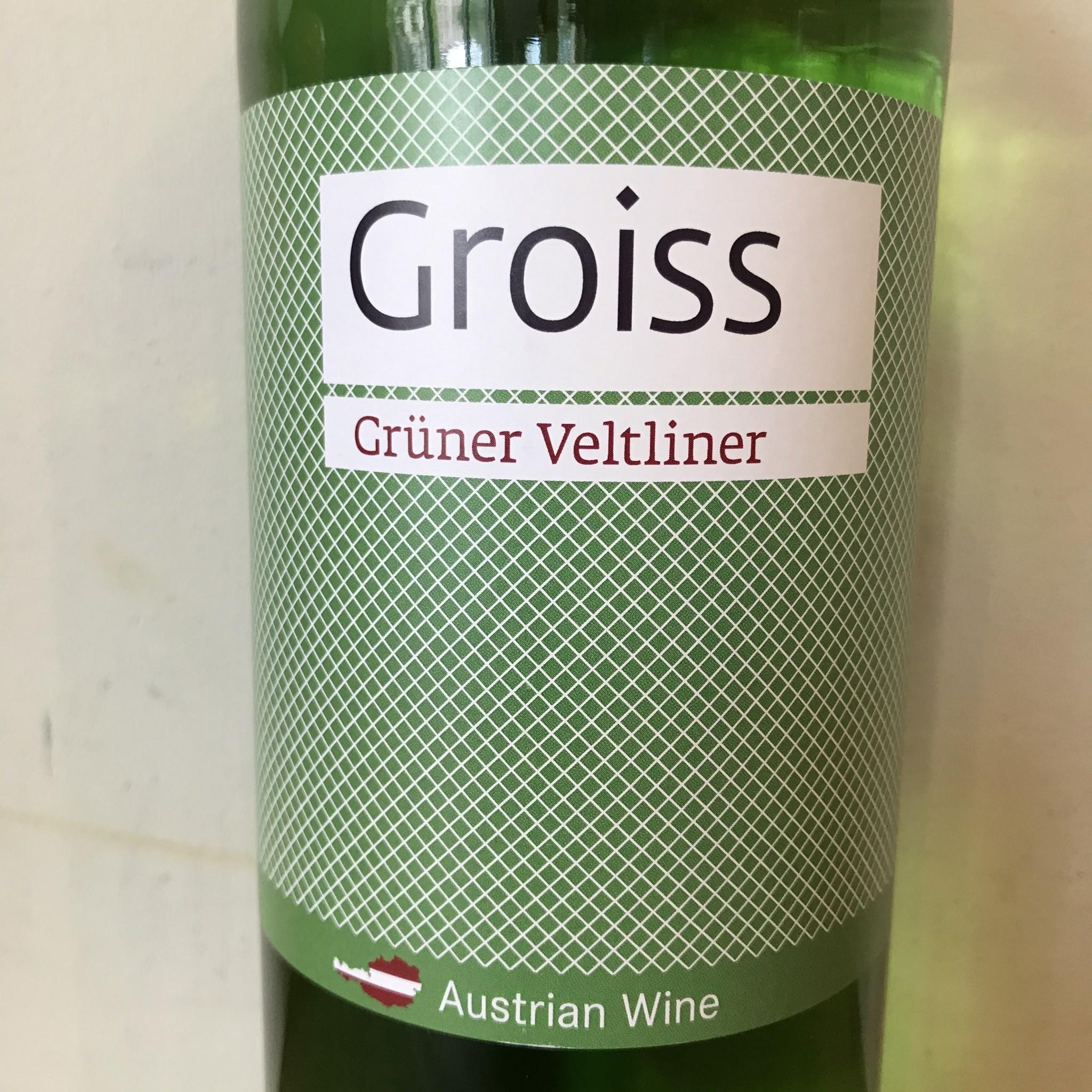 Austria 2020 Groiss Gruner Veltliner Liter