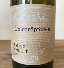 "Germany 2019 Spater Veit Piesporter Goldtropfchen Riesling Kabinett ""Armes"""