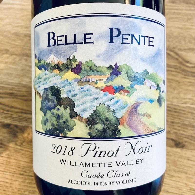 """USA 2018 Belle Pente Willamette Pinot Noir """"Cuvée Classé"""""""