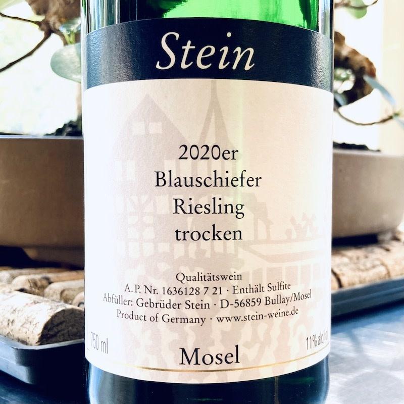 Germany 2020 Stein Riesling Blauschiefer Trocken