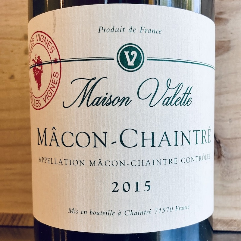 France 2016 Domaine Valette Macon Chaintre