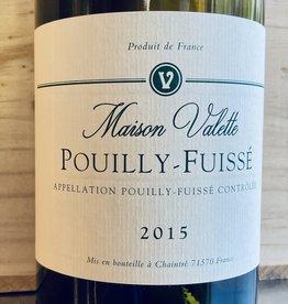 France 2015 Domaine Valette Pouilly Fuisse