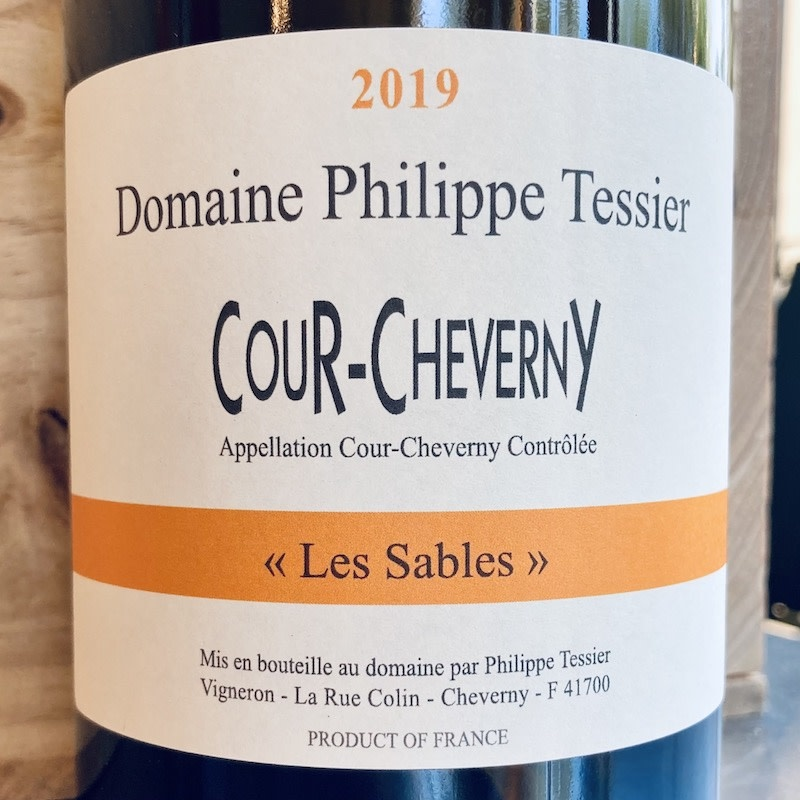 """France 2019 Philippe Tessier Cour-Cheverny """"Les Sables"""""""