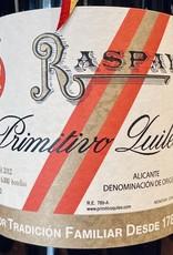 """Spain 2012 Primitivo Quiles Alicante """"Raspay"""""""