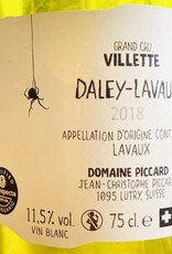 "Switzerland 2018 Domaine Piccard ""Daley-Lavaux"" Lavaux Villette Grand Cru"
