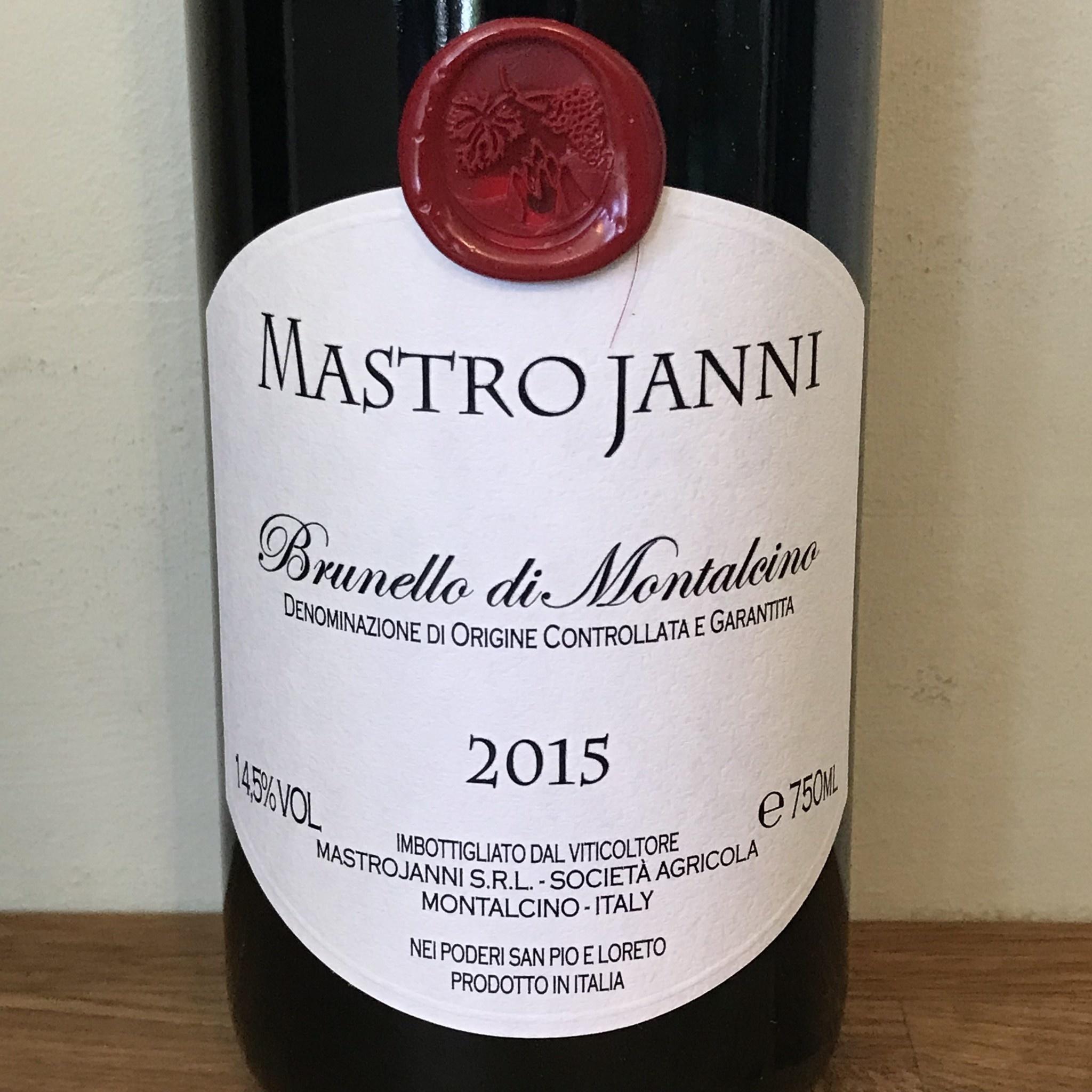 Italy 2015 Mastrojanni Brunello di Montalcino