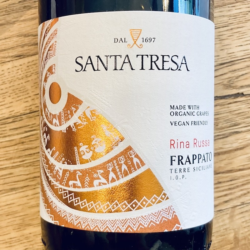 "Italy 2020 Santa Tresa ""Rina Russa"" Frappato Terra Siciliane"