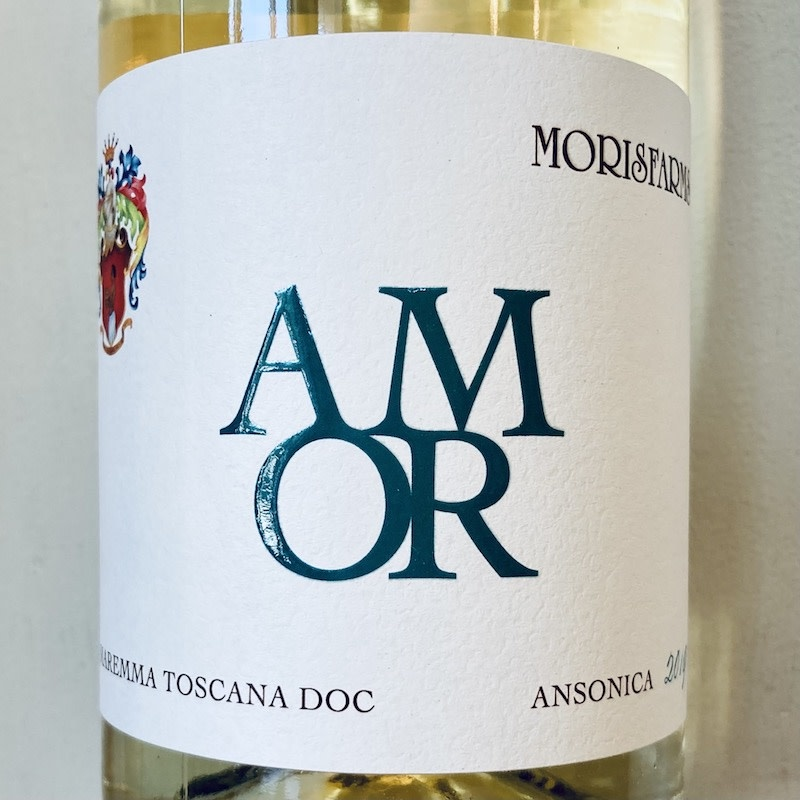 "2019 Morisfarms ""Amor"" Ansonica Maremma Toscana"