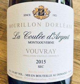 """France 2015 Bourillon Dorleans Vouvray Sec """"La Coulee d'Argent"""" Montgouverne"""