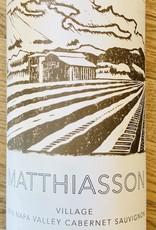 "USA 2018 Matthiasson ""Village"" Napa Valley Cabernet Sauvignon - Bottling No. 2"