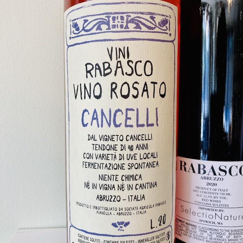"""Italy 2020 Rabasco Abruzzo """"Cancelli"""" Rosato"""