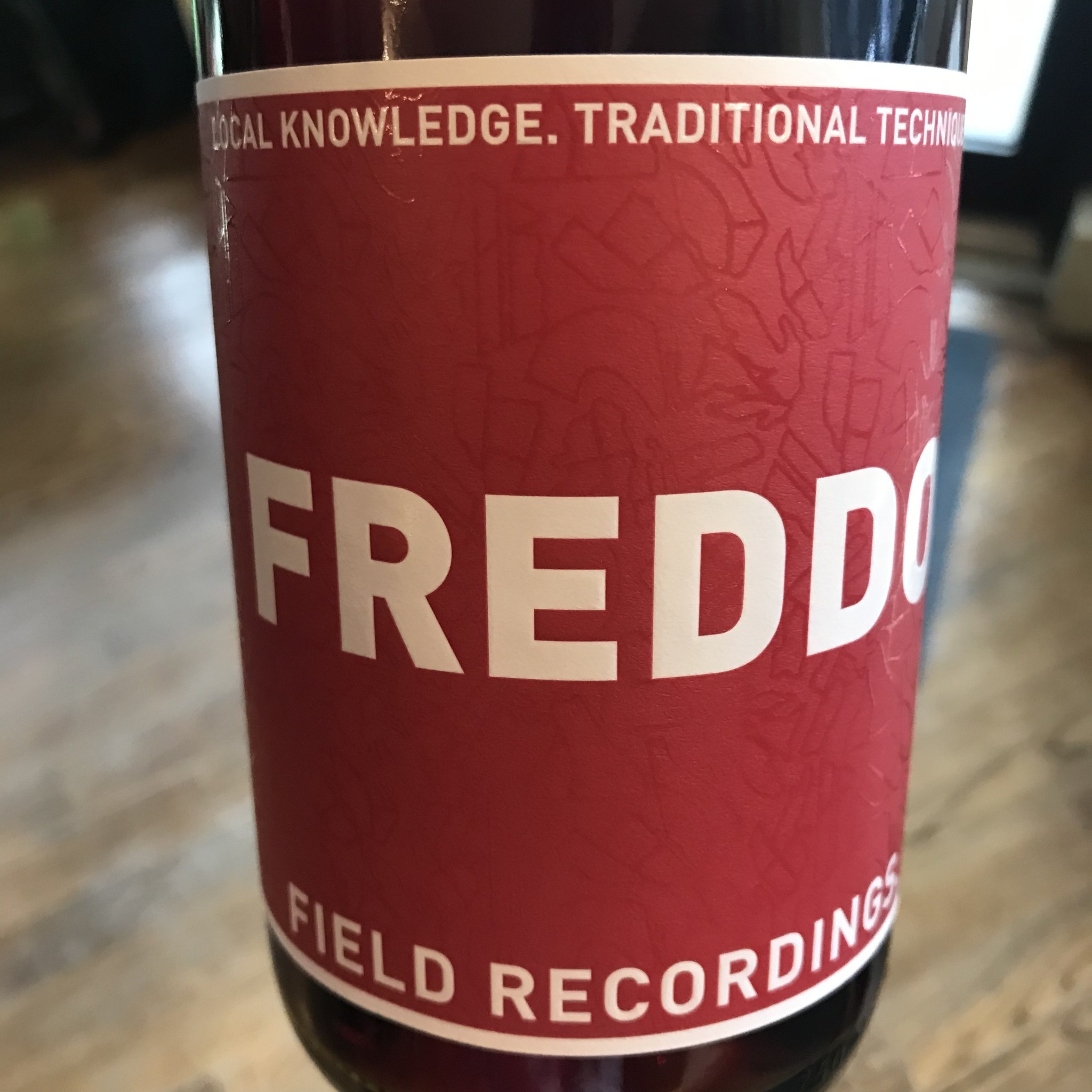 USA 2019 Field Recordings Freddo Sangiovese