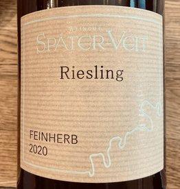 Germany 2020 Spater-Veit Riesling Feinherb 1.0L
