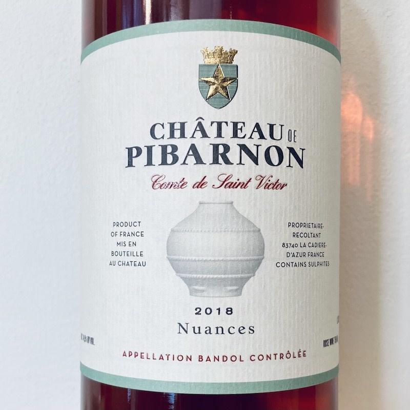 "France 2018 Pibarnon Bandol Rosé ""Nuances"""