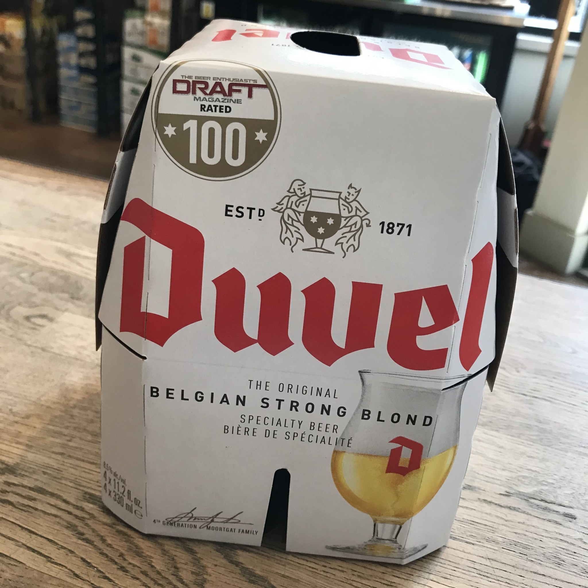 Belgium Duvel Duvel 4pk
