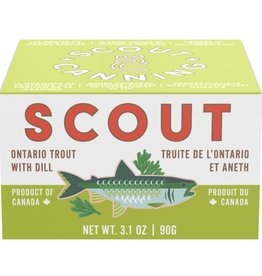 Canada Scout Ontario Trout with Dill 3.2oz