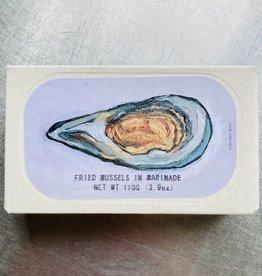 Portugal Jose Gourmet Fried Mussels in Marinade 110g