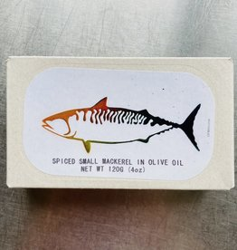 Portugal Jose Gourmet Spiced Small Mackerel in Olive Oil 120g