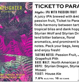 USA Lamplighter Ticket To Paradise IPA