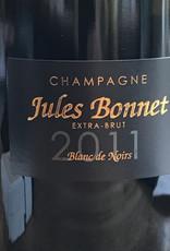 France 2011 Jules Bonnet Champagne Blanc de Noirs Extra Brut