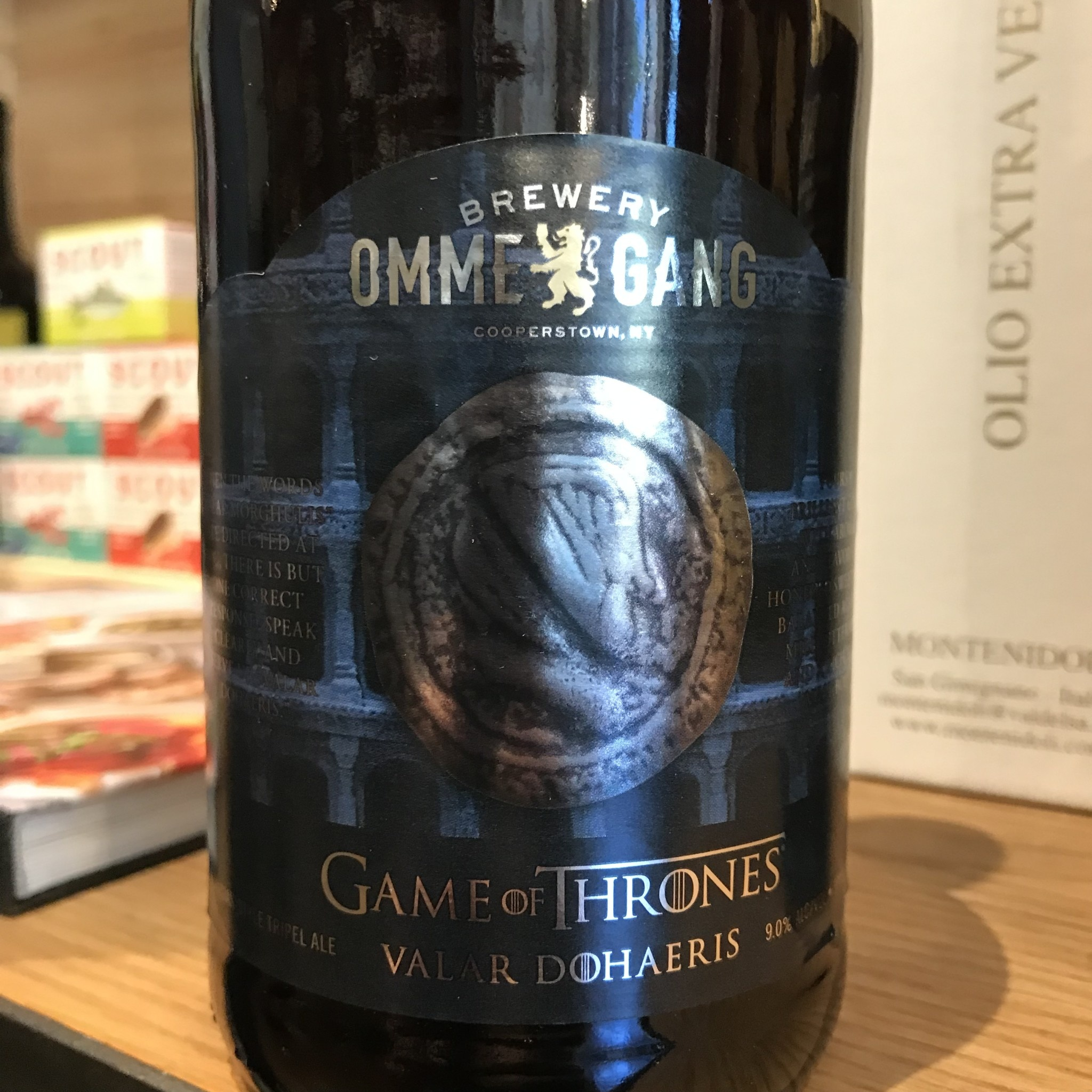 USA Ommegang Game of Thrones Valar Dohaeris