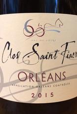 France 2018 Clos Saint Fiacre Orleans Rouge