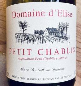 France 2019 Domaine d'Elise Petit Chablis