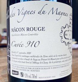 """France 2020 Clos des Vignes du Maynes Macon Rouge """"Cuvée 910"""""""