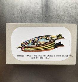 Portugal Jose Gourmet Smoked Small Sardines in EVOO 90g