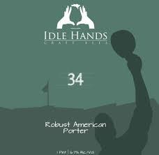 USA Idle Hands 34 Robust Porter 4pk