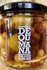 Spain Dequmana Mixed Olives & Herbs 12oz