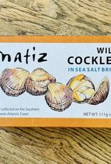 Spain Matiz Wild Cockles (Berberechos) in Brine 111g