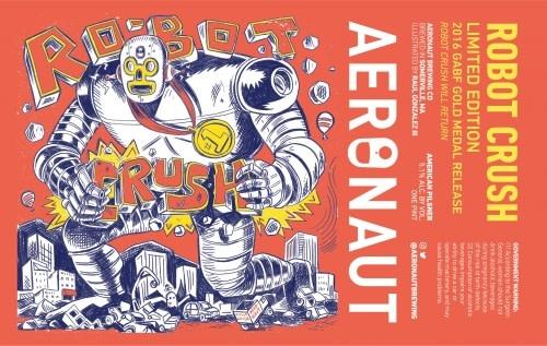 USA Aeronaut Robot Crush Pils 4pk