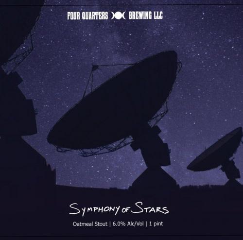 USA Four Quarters Symphony of Stars Oatmeal Stout 4pk