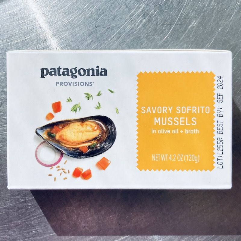 Spain Patagonia Savory Sofrito Mussels 120g