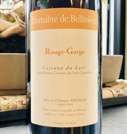 """France 2019 Domaine de Belliviere """"Rouge-Gorge"""" Coteaux du Loir"""
