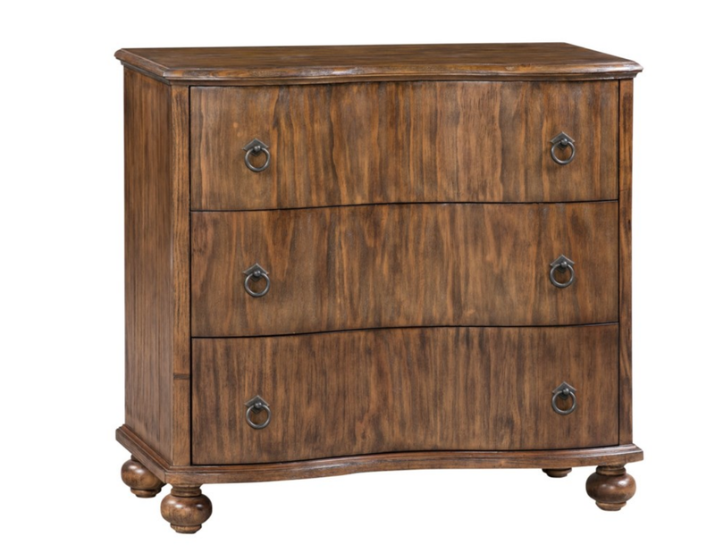 Crestview 3 Drawer Curved Front Chest