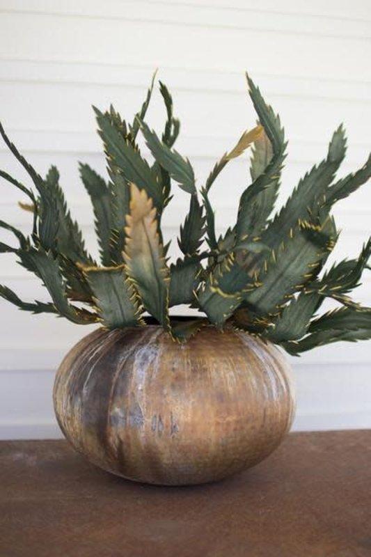 Kalalou Antique Verdigris Planter